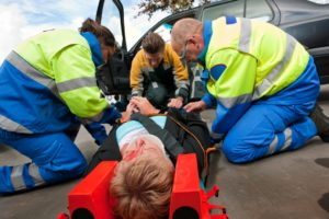 car crash injury law